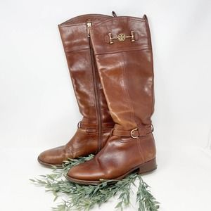 Tory Burch Nadine Tall Riding Boots Size 7.5